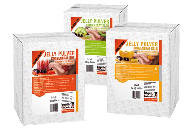 Jelly-Pulver-Konzentrat
