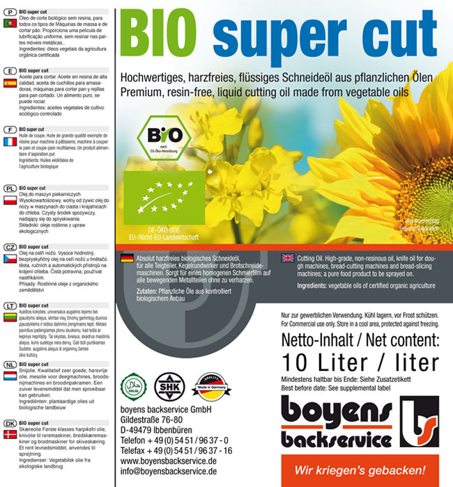 Bio super cut Trennmittel