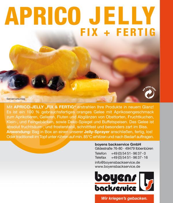 Jelly Fix und Fertig Aprico