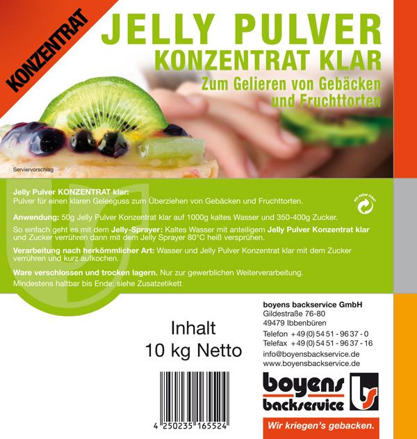 Jelly Pulver Konzentrat Klar
