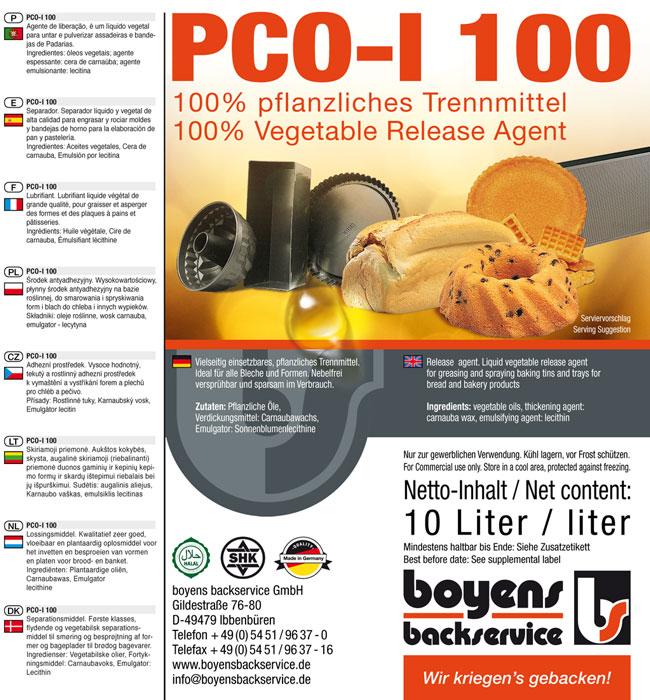 PCO-1 100 Formen Trennmittel